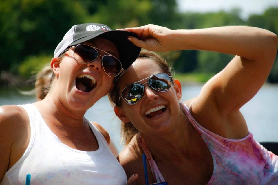 canoe trip smiles
