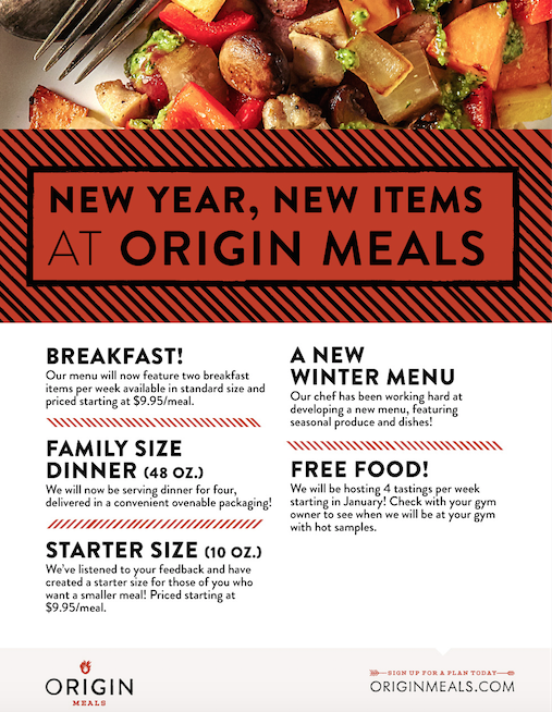 Origin Meals